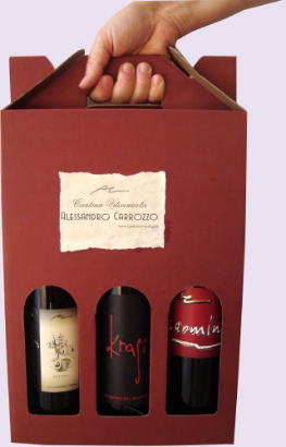 Packed in three or six bottles of wine Made in Italy niche of red wines for a vip market, wines from primitivo and negroamaro grapes to produce the most exclusive wine of the Italian producers to high class restaurants and vip distributors in United States, retail wineries in California, Middle East, Germany wineries, China distribution market. Primitivo red wine for lovers for a vip tables and niche Negroamaro wines for vip world market