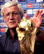 Marcello Lippi (AIAC coach) Italian soccer school become a Champion with our Coaches, let us manage your soccer team form beginners, young, girs and professional players, the Italian football soccer school to the world thanks to WBN and AIAC - the Italian football soccer association of coaches - the Italian football soccer school offers to the international players and teams the World Champions technical and tactical training to the USA soccer teams, Canada soccer players, UAE soccer league, Saudi Arabia teams, Australia teams and soccer players. We offer also customized training for soccer lovers as begineers camps, young soccer camps, girls football soccer training and professional Italian soccer Coaches for your team, our Italian soccer school offers the most prestige and winner Football Soccer coach camps and training in the world ready to coach in your country and become a Champion in your league